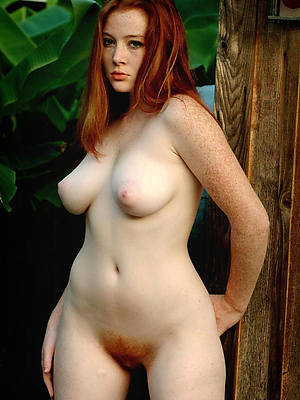 of age redhead having it away unvarnished porn pics