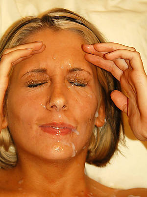 hot in one's birthday suit of age facials porn pics