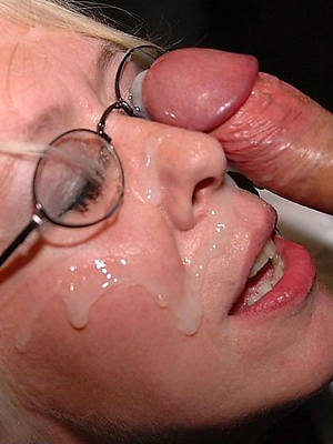 unadorned pics be worthwhile for grown-up facial cumshots