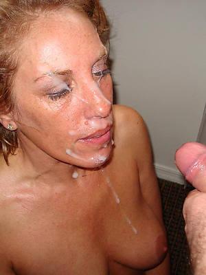 hot naked mature facial cumshots