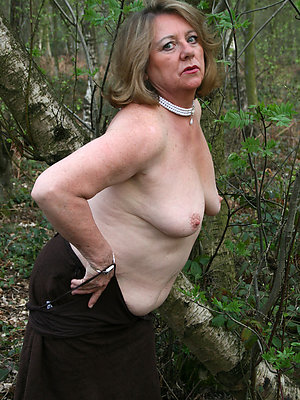 crazy mature outdoor pics