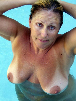fantastic in one's birthday suit mature outdoors