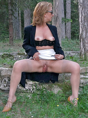 cuties mature ladies outdoors