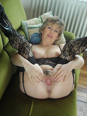 grotesque full-grown vulva milf veranda