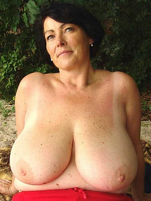 totally chubby full-grown breasts