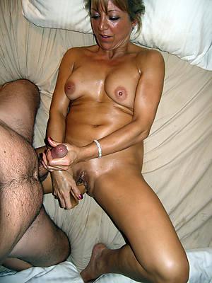 grown-up woman giving handjobs porn