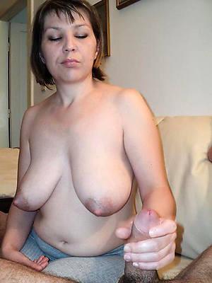 sweet nude mature handjob xxx