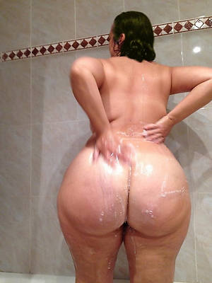 beautiful mature woman there shower