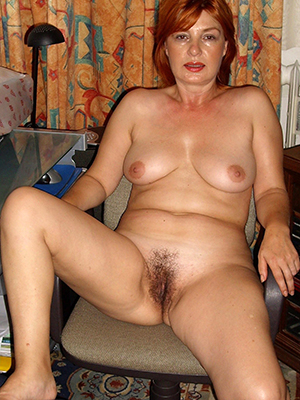 spectacular redheaded old bag