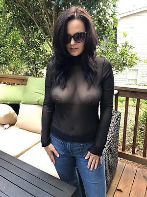 sexy dressed mature porn pix