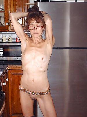 Skinny mature nude