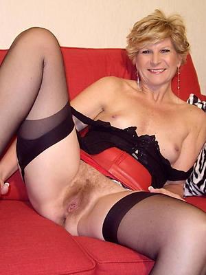 petite mature ladies nylons photo