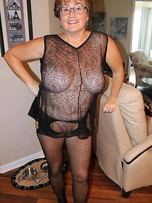 sexy mature ladies alongside nylons porn