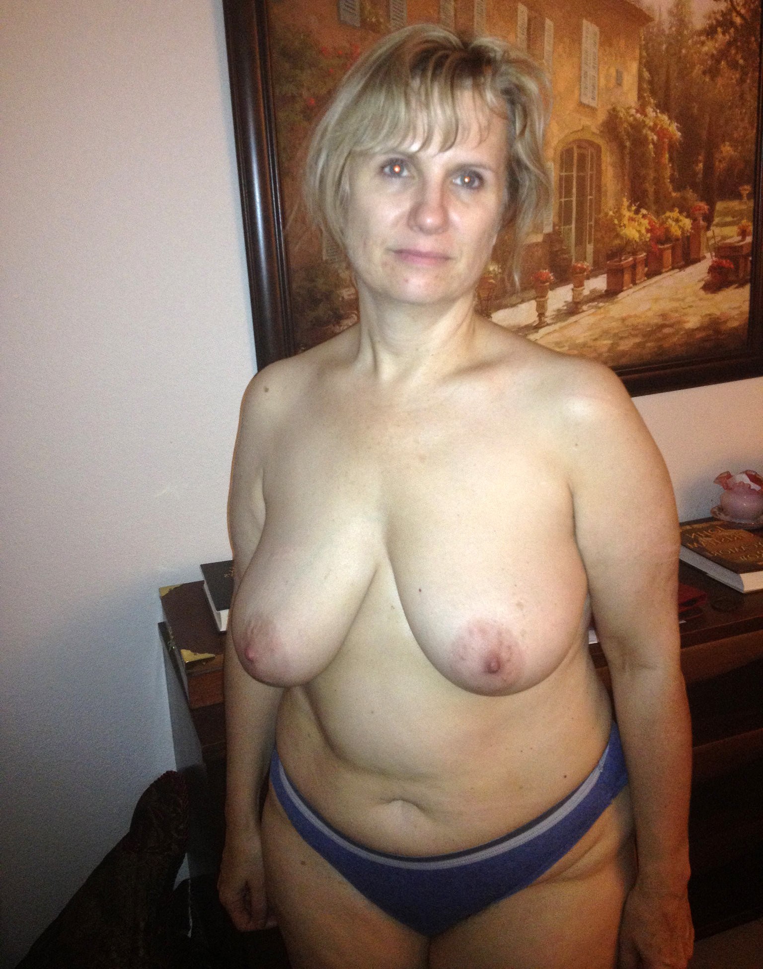 Mature wives tits