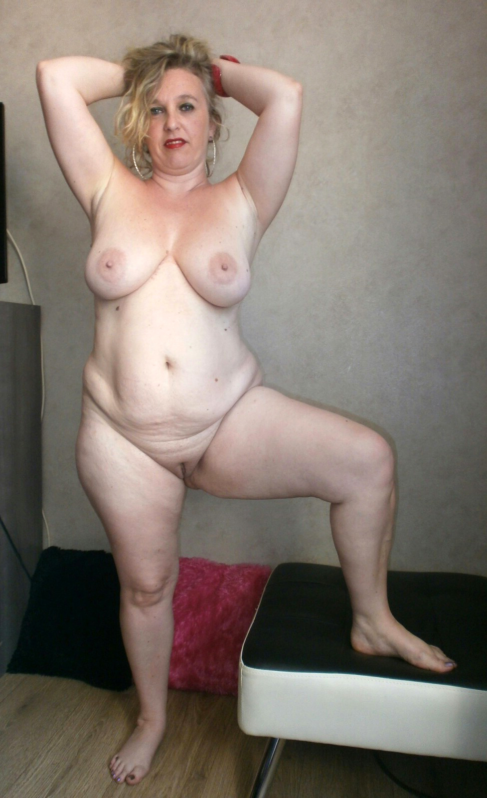 Fat old women naked