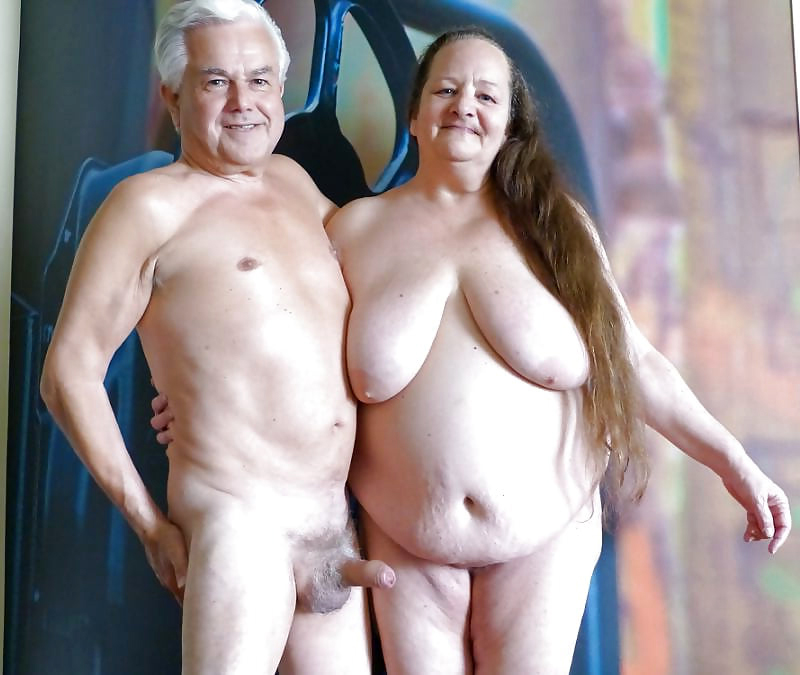 Nude older couples