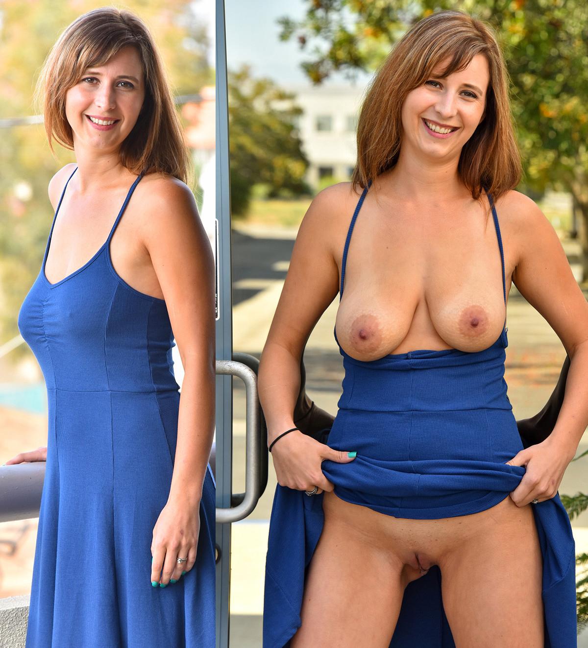 Dressed nude