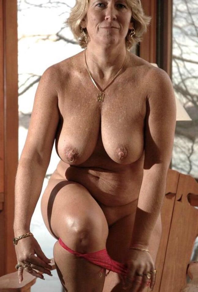 Old woman pron