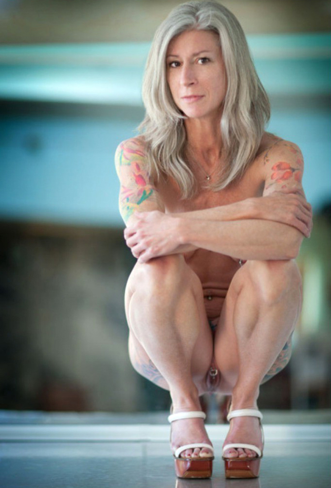 unconforming pics be proper of tattooed of age porn
